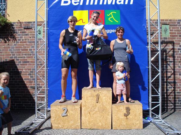 Sprint Damen Sieger