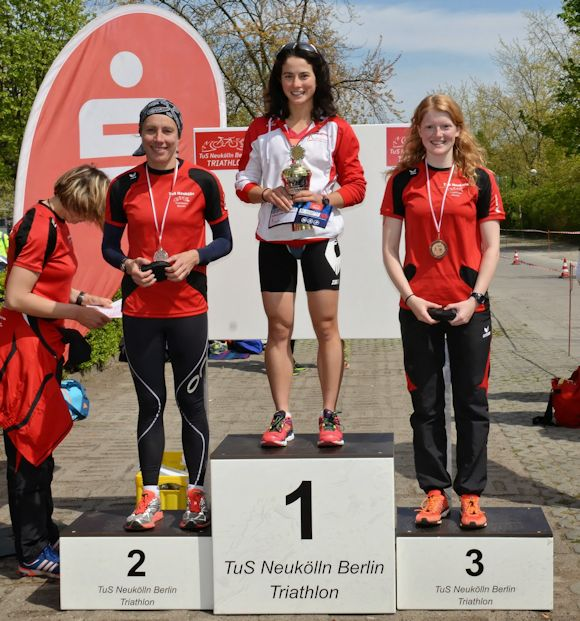 Siegerehrung Powersprint Elite w