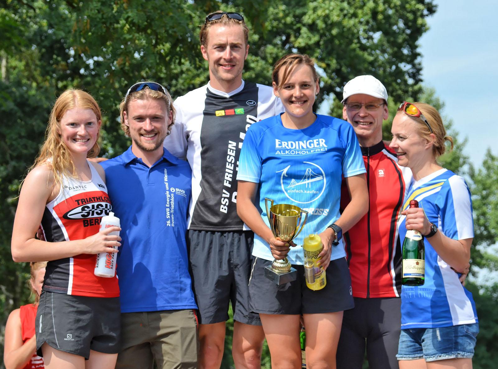 TuS Neukölln Berlin » 25. Kallinchen-Triathlon, 28. August 2016