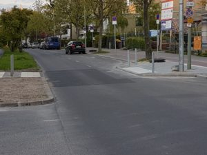 Spuren des Baubooms in der Lipschitzallee